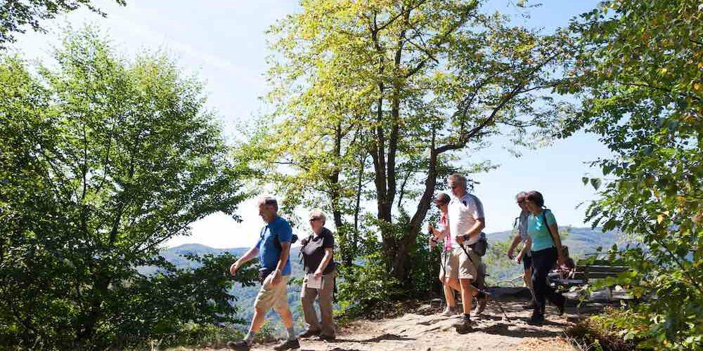 Wanderer in der Wachau