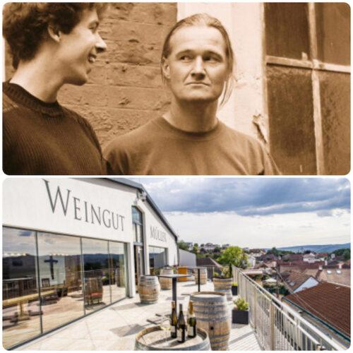 Terrasse Weingut Müller